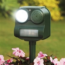 Solar Garden Pest Repeller