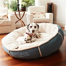 Plush Circular Pet Bed