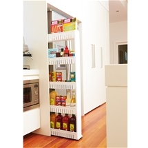 5 Tier Slide-Out Pantry
