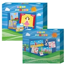 Play School Paper Dolls and Mosaic Set