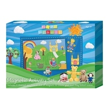 Play School Magnetic and Felt Activity Set