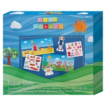 Play School Paper Dolls Activity Set