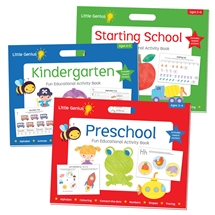 Little Genius Activity Books