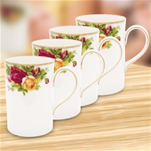 Country Roses Mug Set