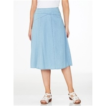 Flip Denim Skirt