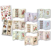 Shabby Chic I - 3D Greeting Card Kit