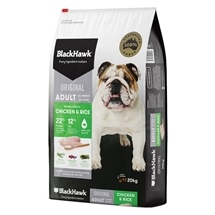 Black Hawk Dog Adult Chicken & Rice 3kg-20kg