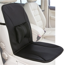 Car Seat Cushion With Lumbar Support