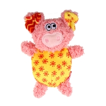 Plush Pig with Squeaker