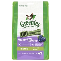 Greenies Blueberry Treat Packs 340g