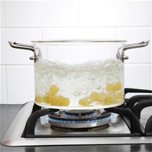 Glass Saucepan