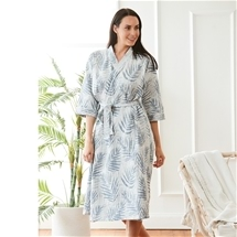 Hawaiian Jacquard Robe