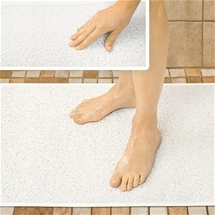 Drain Away Shower Mat