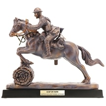 Leap Of Faith Light Horse Figurine