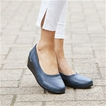 Leather Slip On-Shoes