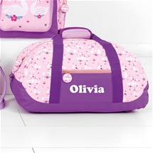 Personalised Kids Overnight Duffle Bag