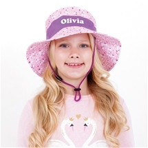 Personalised Kids Sun Hat