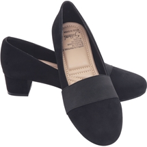 Suede Court Shoe