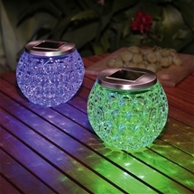 Solar Glass Set of 2