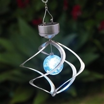 Solar Wind Spinner with Light