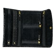 Crocodile Style Black Jewellery Travel Wallet_0810328_2
