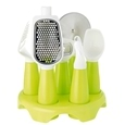Kitchen Utensil Set with Stand_FF48_1