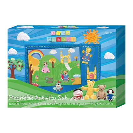 Play School Magnetic and Felt Activity Sets