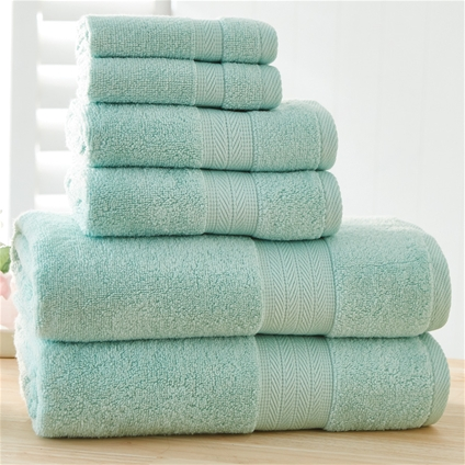 Bondi Zero Twist 6pc Towel Set