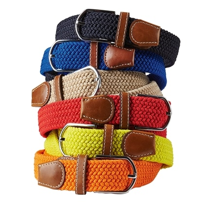 Women's Stretch Belts - Set of 6