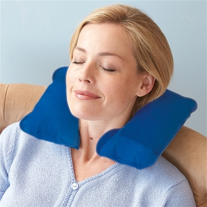 Free Inflatable Neck Pillow